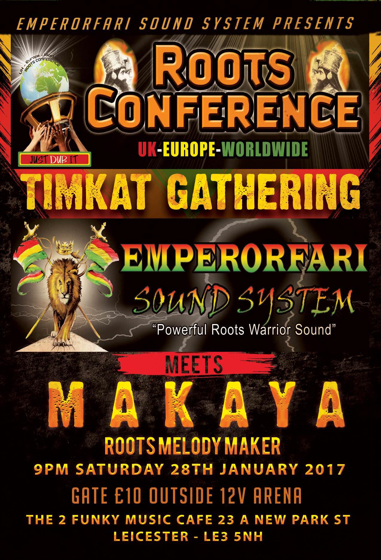 """Emperorfari meets Makaya Roots Conference """"Timkat"""" gathering"""