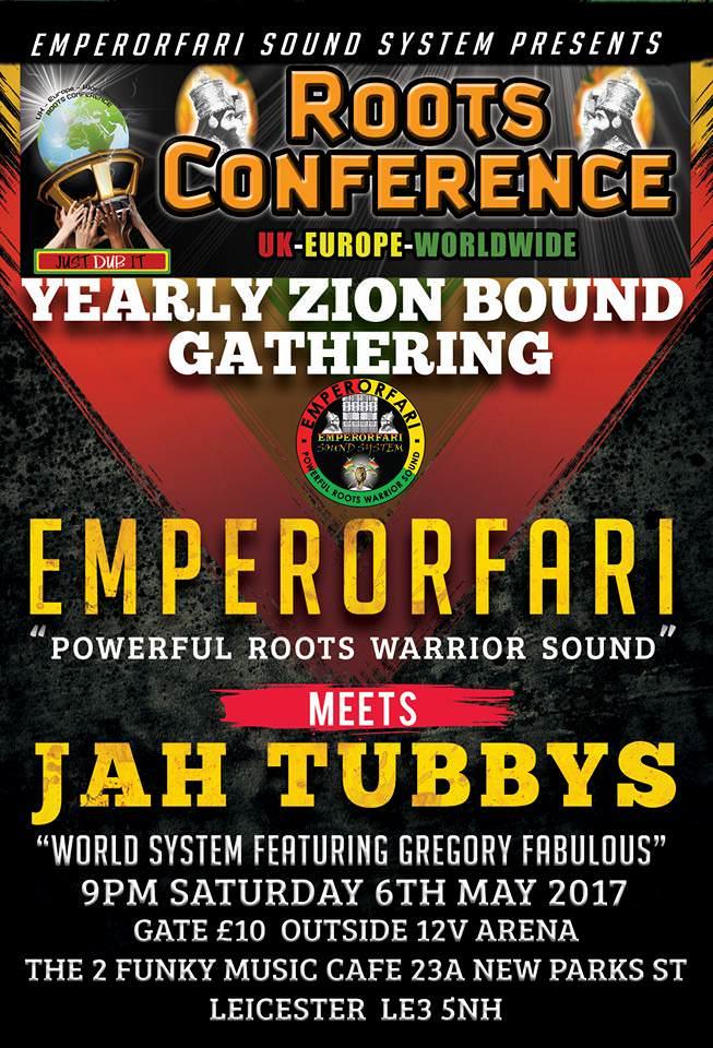 Emperorfari MTS JAH Tubbys yearly Zion Bound Gathering