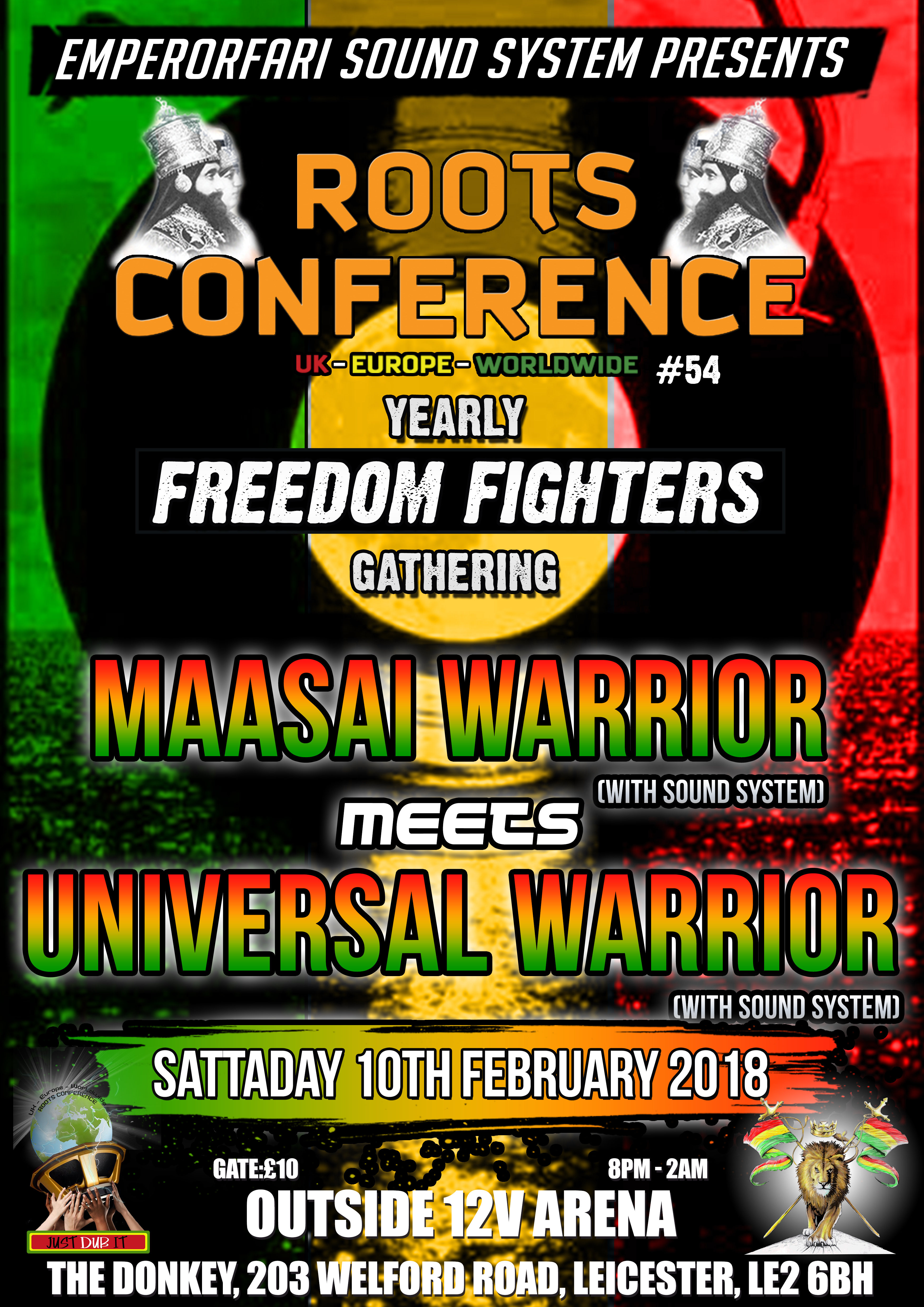 """MAASAI WARRIOR MEETS UNIVERSAL WARRIOR – ROOTS CONFERENCE YEARLY """"FREEDOM FIGHTERS"""" GATHERING"""