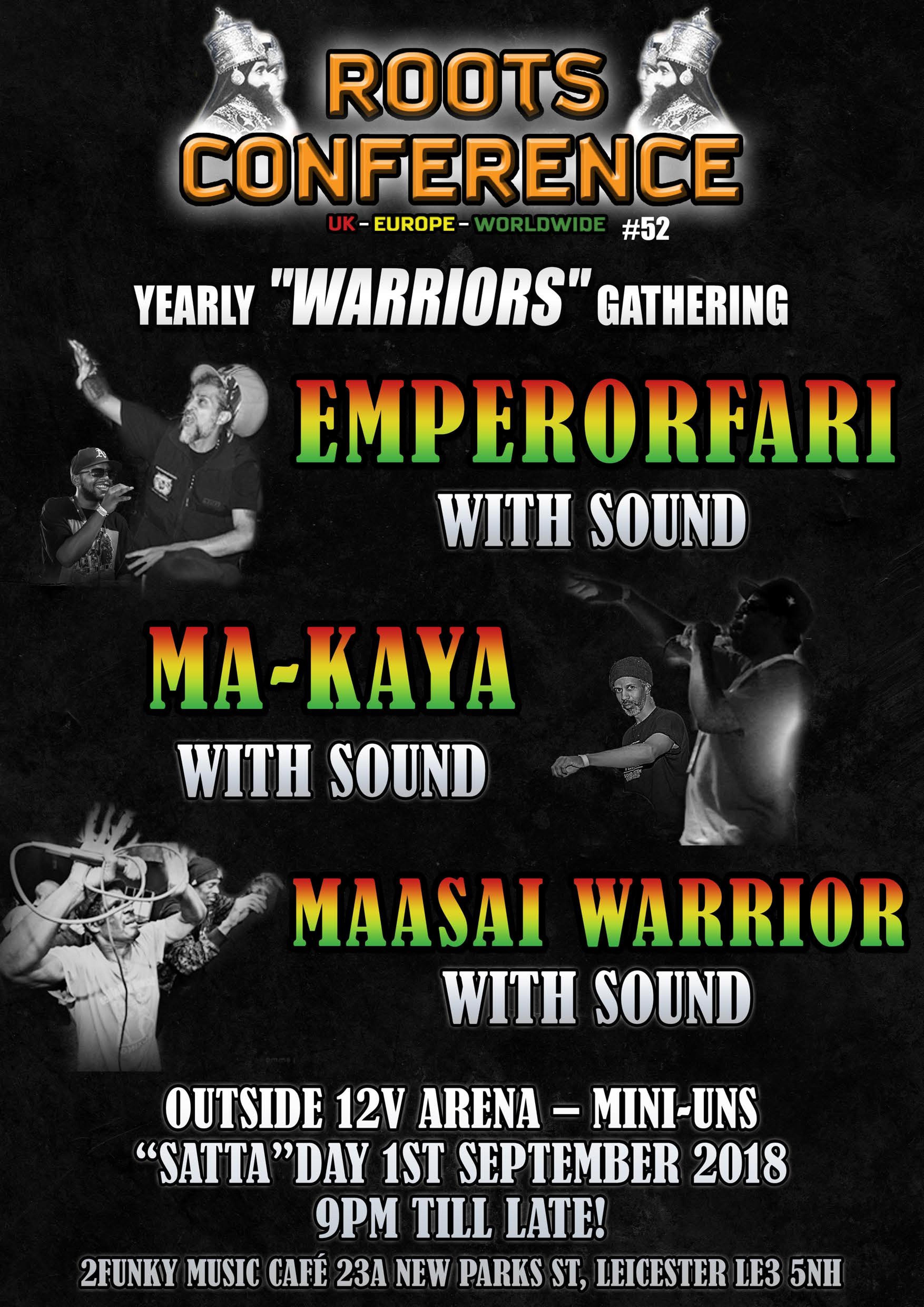 """Emperorfari mts Ma-Kaya – mts Massai Warrior & 12V Miniuns ROOTS CONFERENCE Yearly """"WARRIORS"""" Gathering"""